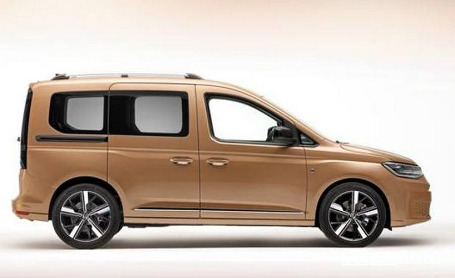 Volkswagen Caddy vista esterna laterale