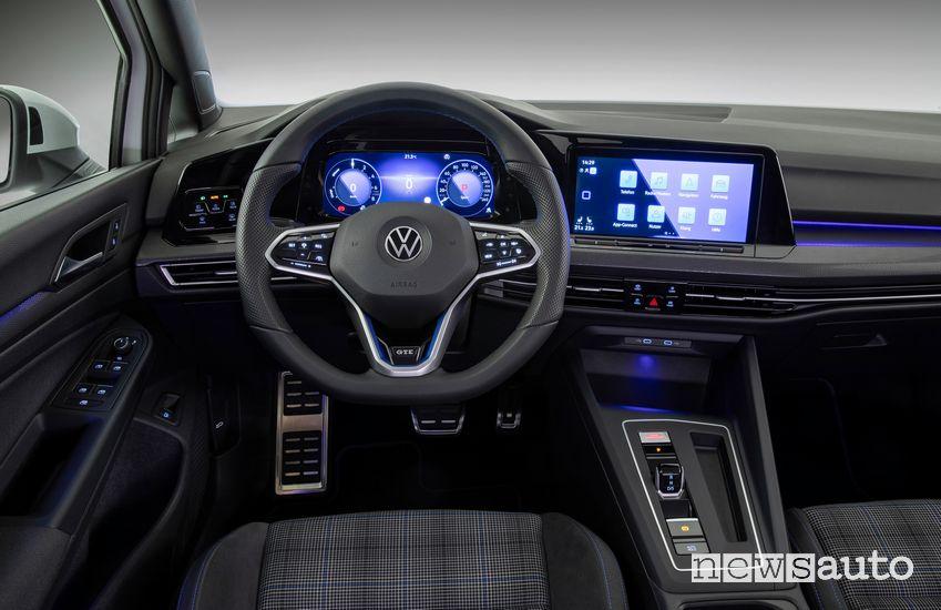 Volante, intero Volkswagen Golf GTE PHEV 2020