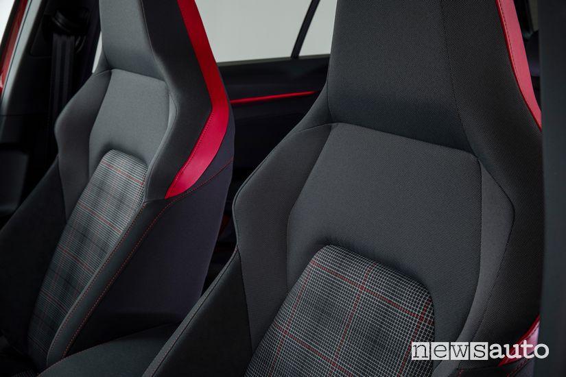 Sedili sportivi abitacolo Volkswagen Golf GTI 8 2020
