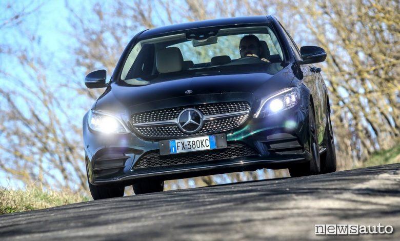 prova Mercedes C200 Hybrid