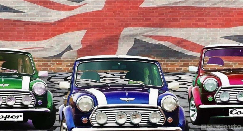 MINI classica storica. Cosa accadrà con la Brexit per il mondo dell'automobile e le case costruttrici?