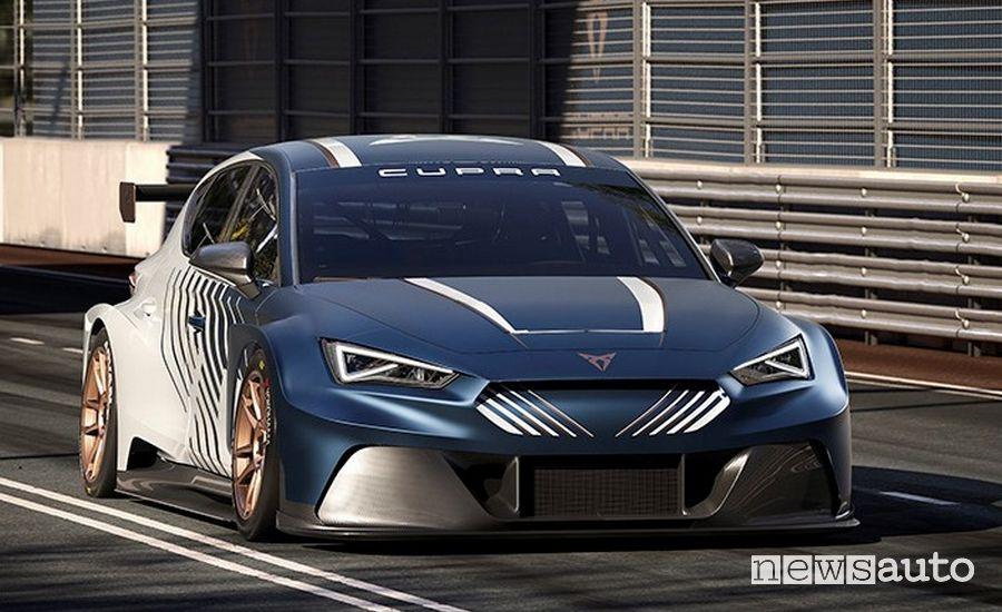 Cupra E-Racer auto da corsa elettrica