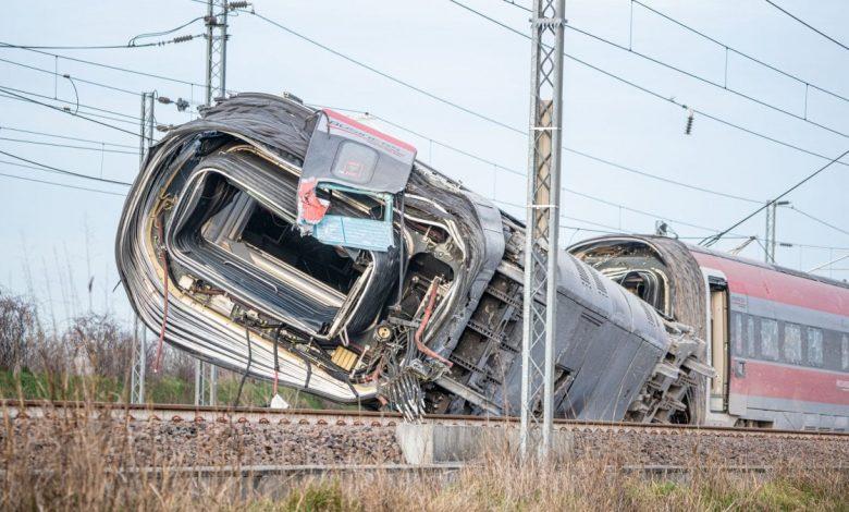 Treno deragliato Frecciarossa, le cause