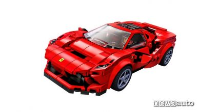 Photo of Modellino auto Ferrari F8 Tributo, novità Lego