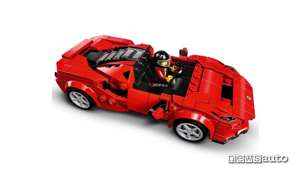 ferrari giocattolo lego F8 Tributo e F8 Spider