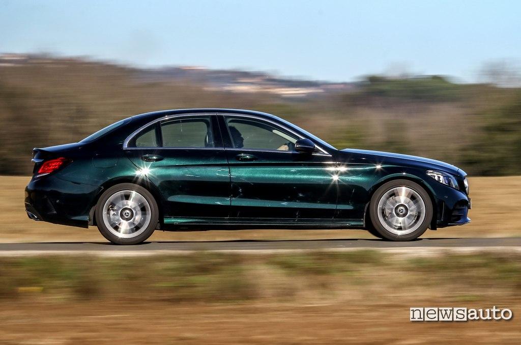 fiancata Mercedes C200 Hybrid