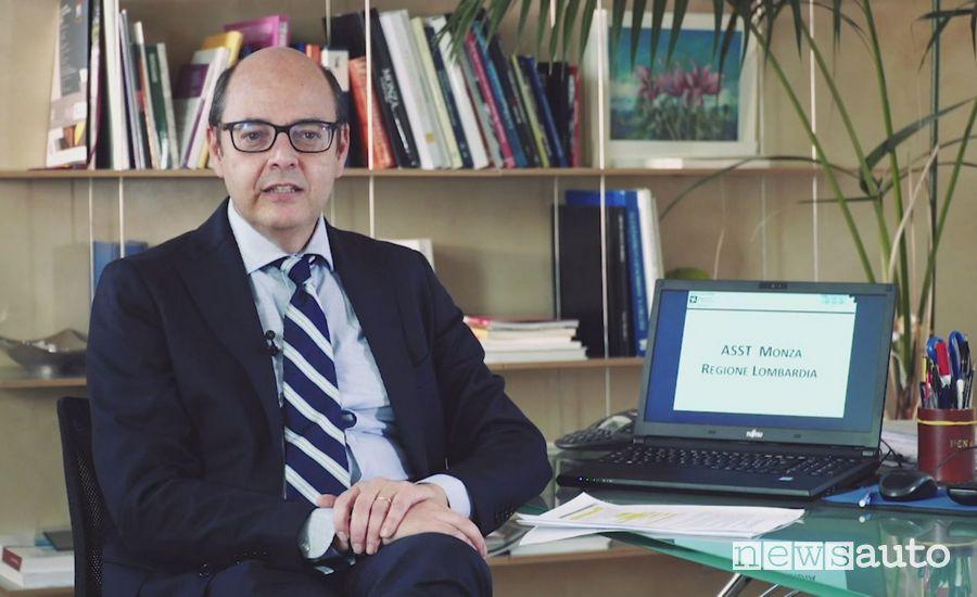 Mario Alparone, Direttore Generale della ASST di Monza