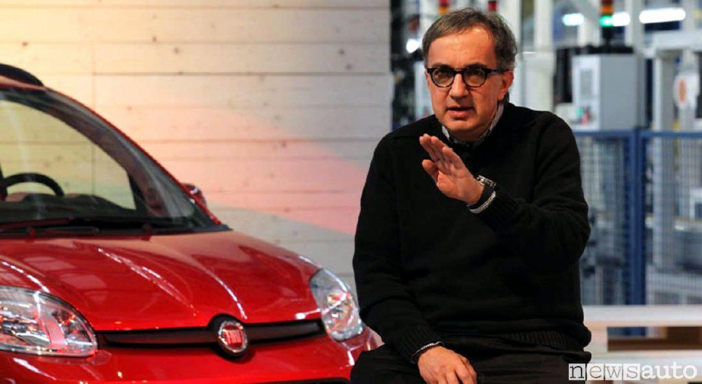 Sergio Marchionne e la Fiat Panda