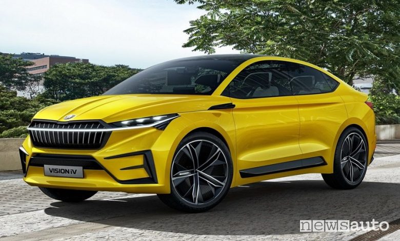 Škoda Enyaq concept Vision iV