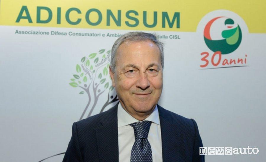Carlo De Masi, Presidente di Adiconsum nazionale