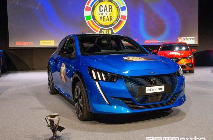 Peugeot 208 è Auto dell'Anno 2020
