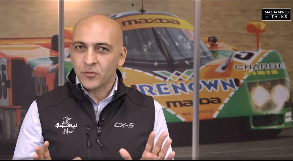 Severino Rea, a capo delle vendite di Mazda Italia,