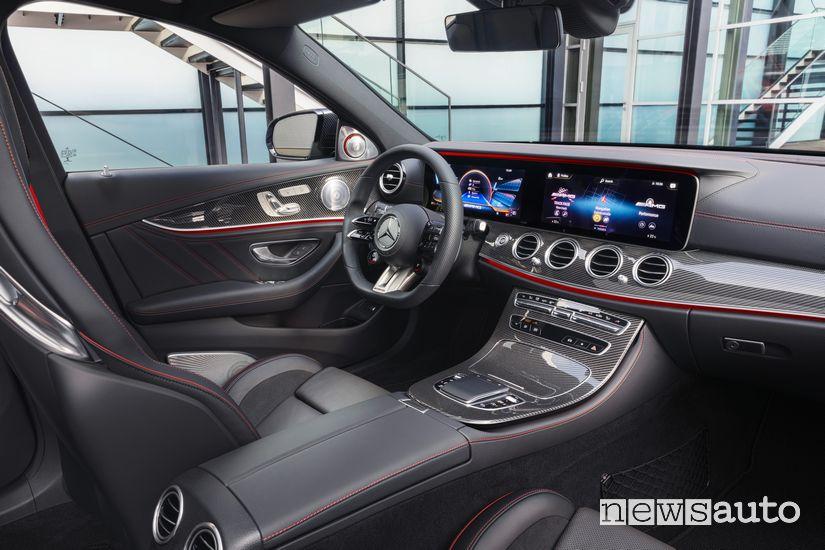Plancia strumenti interni Mercedes-AMG E 53 4Matic+