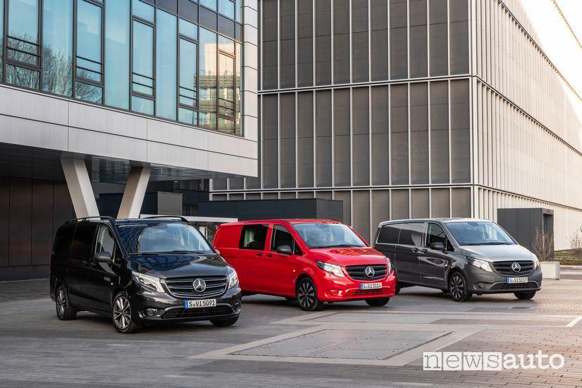 Gamma nuovo Mercedes-Benz Vito 2020