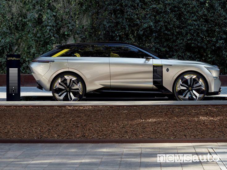 Renault Morphoz concept-car nella versione Travel