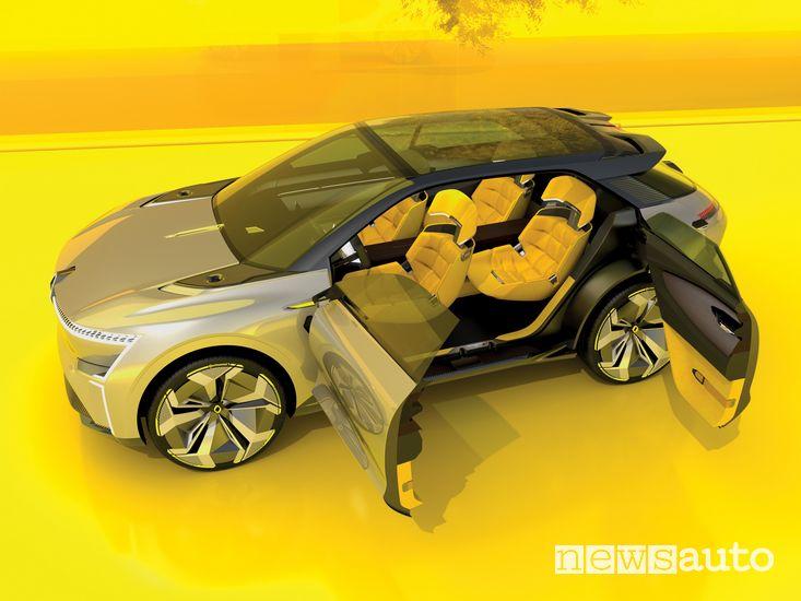 Portiere aperte Renault Morphoz concept-car