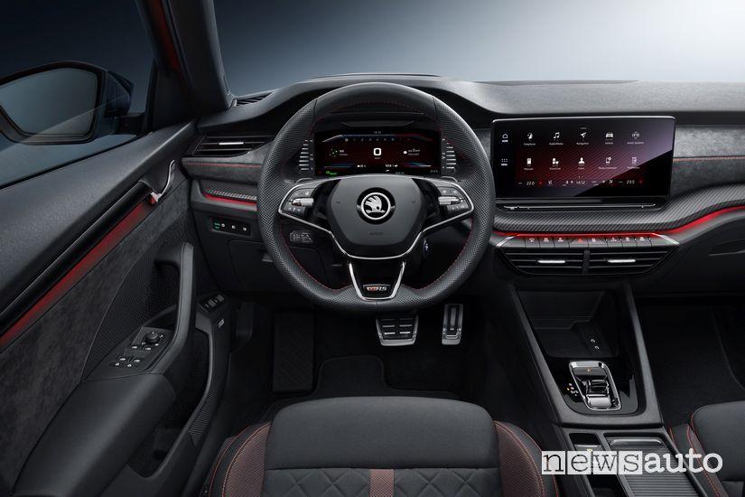 Interni Škoda Octavia RS iV