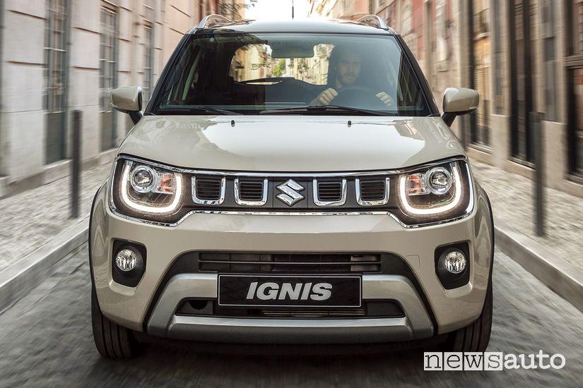 Frontale Suzuki Ignis Hybrid 2020