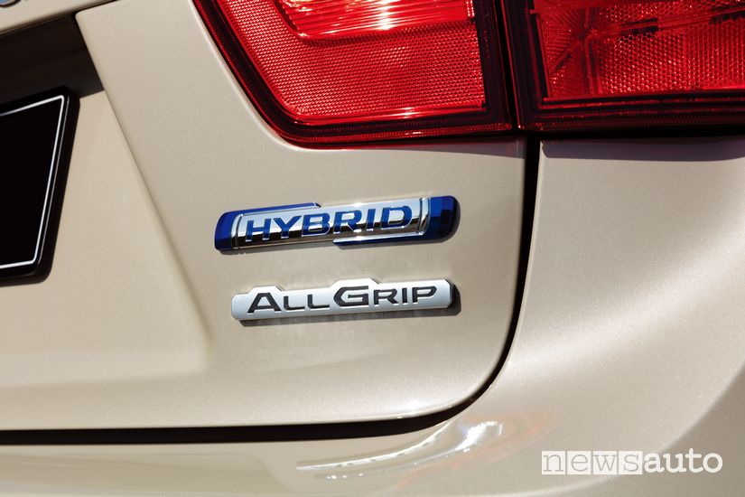 Badge portellone posteriore Suzuki Ignis Hybrid 2020