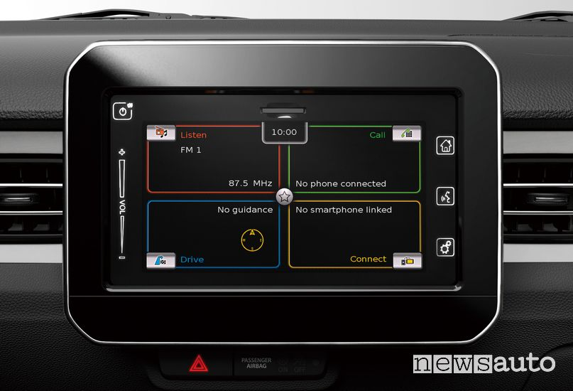 "Touch screen 7"" infotainment Suzuki Ignis Hybrid 2020"