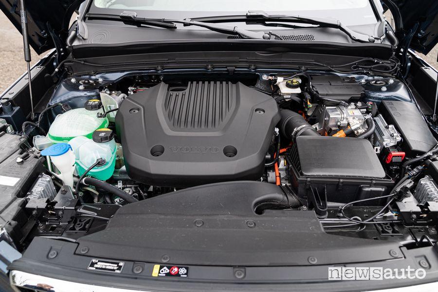 Vano motore ibrido plug-in Volvo XC40 Recharge R-Design PHEV