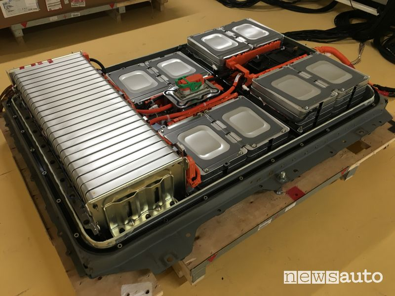 Batteria al litio da 40 kWh della Nissan Leaf