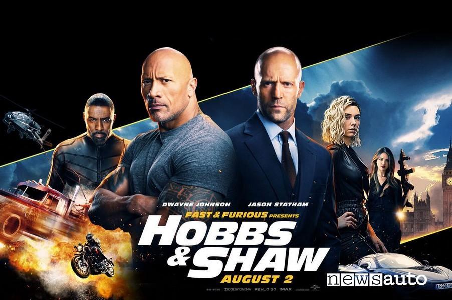 film serie tv auto da vedere a casa film Hobbs & Shaw