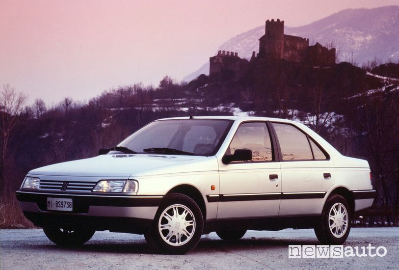 Peugeot 405 Auto dell'Anno 1988