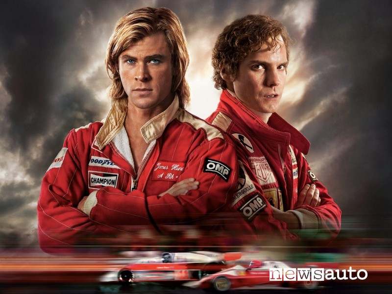 film serie tv auto da vedere a casa Rush Niki Lauda e James Hunt