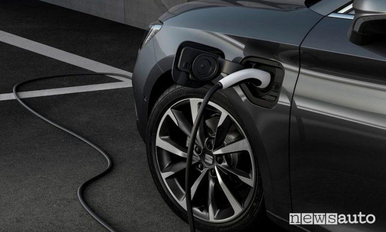 Ricarica Seat Leon plug-in hybrid eHybrid