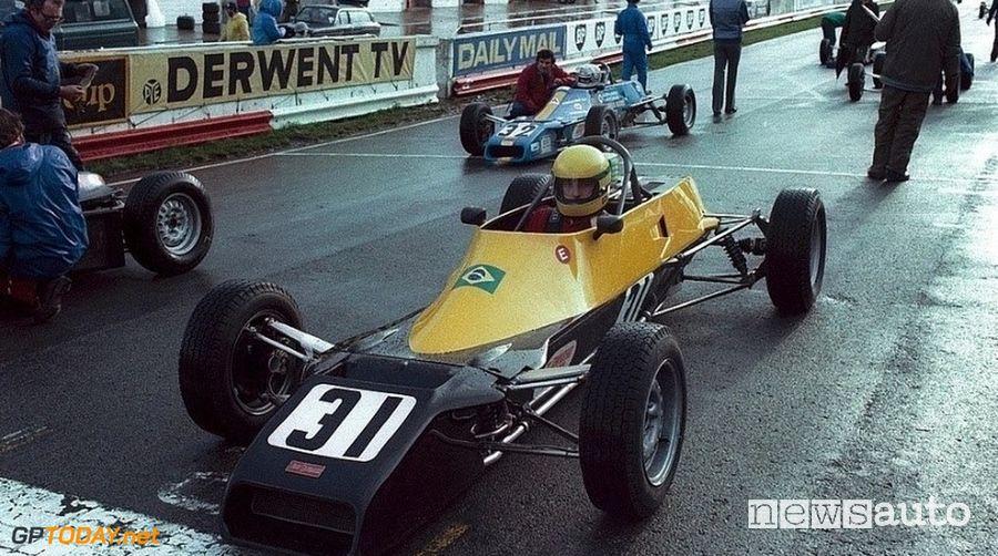 Ayrton Senna esordio con la Formula Ford