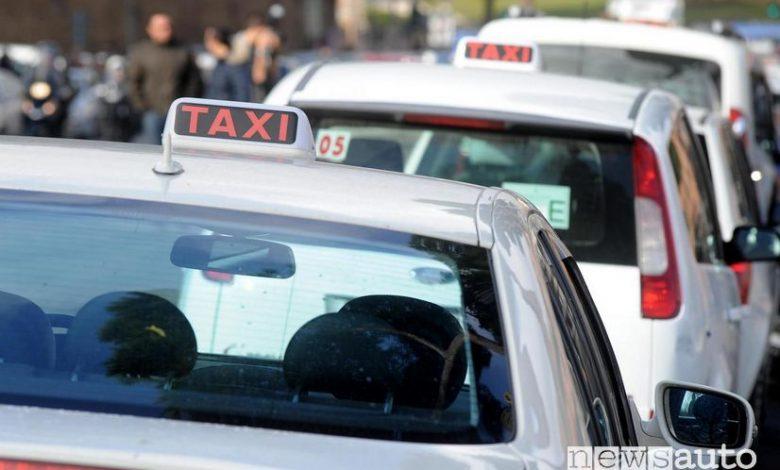 Taxi Roma Emergenza Coronavirus