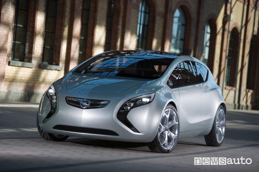 Opel Flextreme concept del 2007