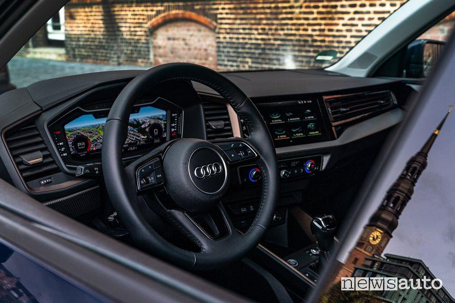 Volante, quadro strumenti abitacolo Audi A1 citycarver
