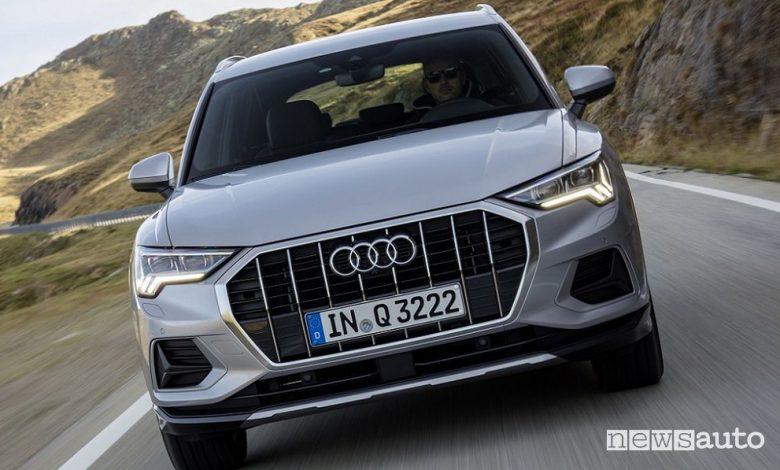 Audi Q3 ibrido mild-hybrid