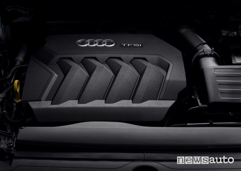 Motore Audi benzina 4 cilindri TFSI mild-hybrid Audi Q3 Sportback