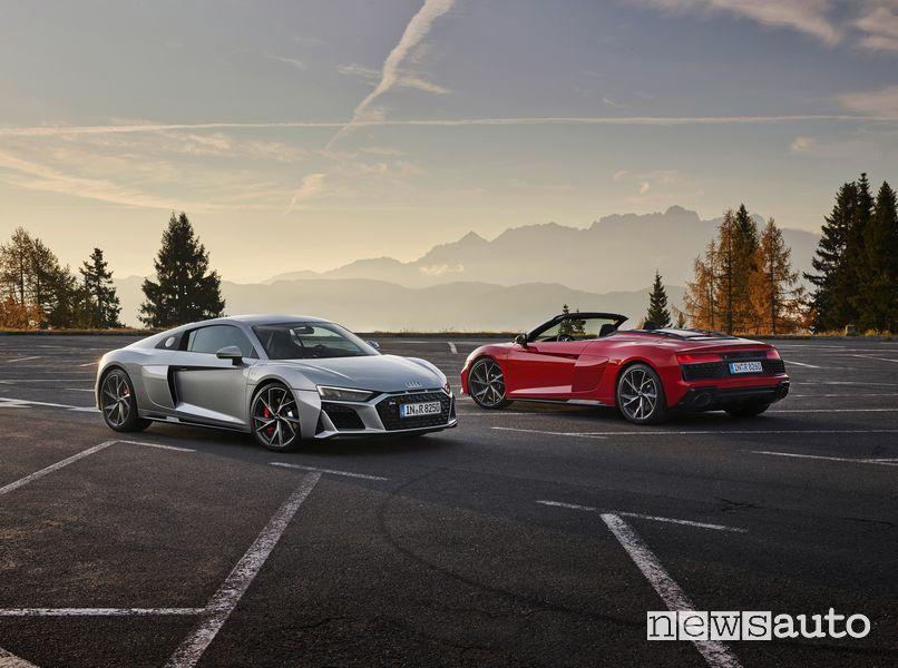 Audi R8 V10 RWD Coupé e Spyder