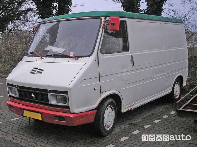 Citroën furgone C35 1980