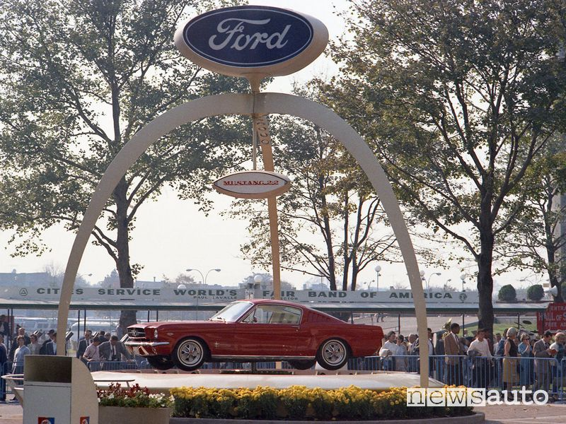 Ford Mustang storica 1964