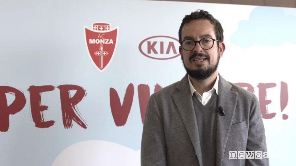 Giuseppe Mazzara, Marketing Communication & CRM Director di Kia Motors Company Italy