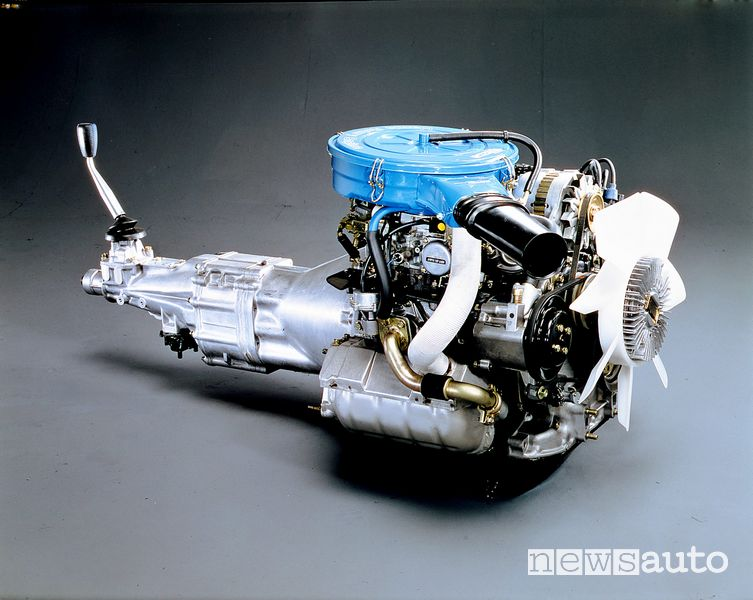 Motore Wankel Mazda RX-7 1^ serie del 1978