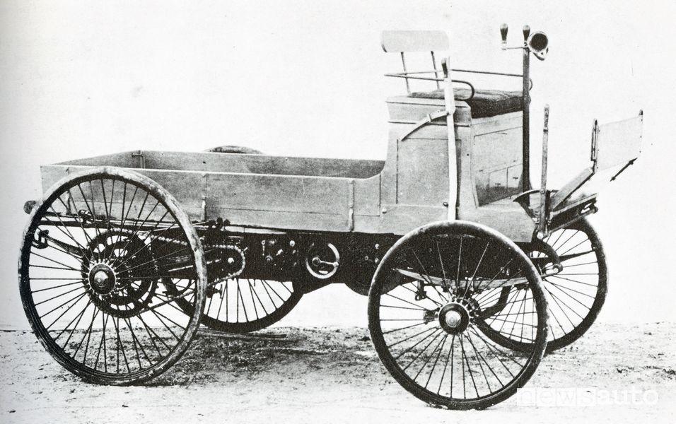 prima gara della storia fra veicoli commerciali
