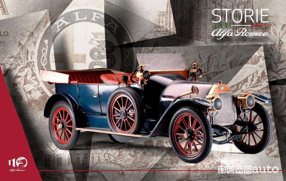 Copertina Storie Alfa Romeo immagine della 24 HP