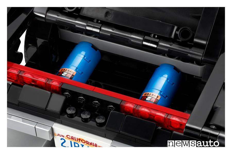 Dodge Charger Lego dettagli bombole NOS modellino auto