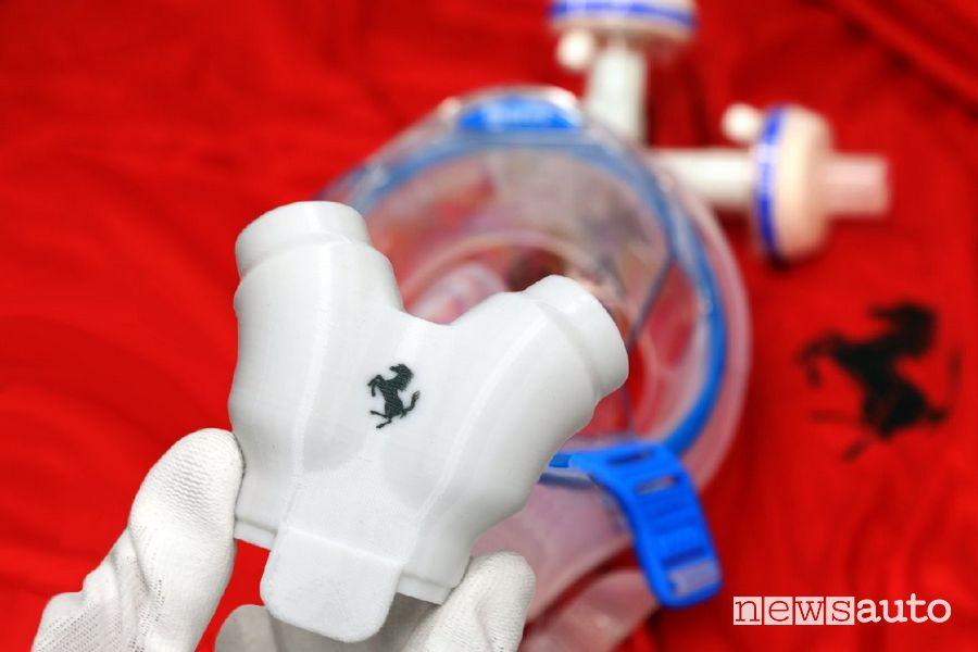 Ventilatori polmonari Ferrari prodotti a Maranello