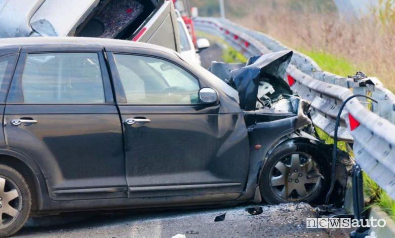 incidenti auto stradali a marzo 2020