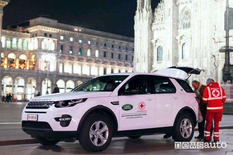 Jaguar Land Rover Italia donazioni alla Croce Rossa