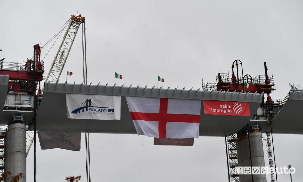 campata nuovo ponte di Genova