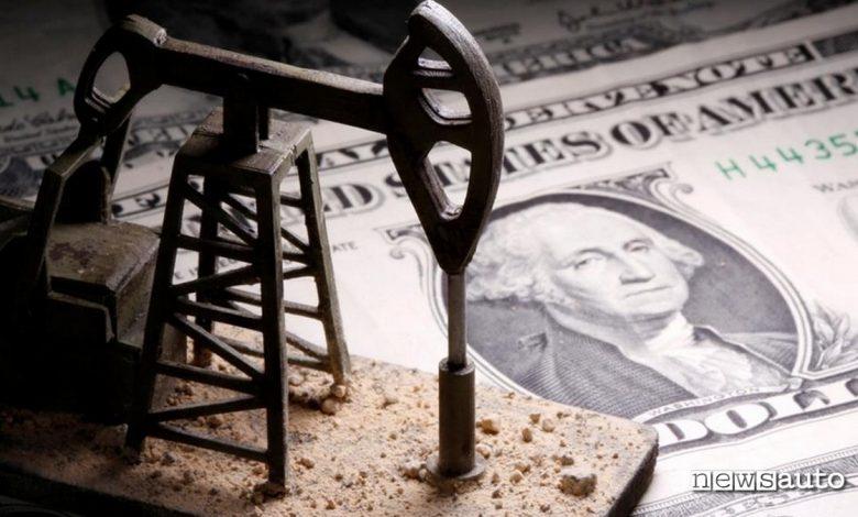 prezzo petrolio negativo