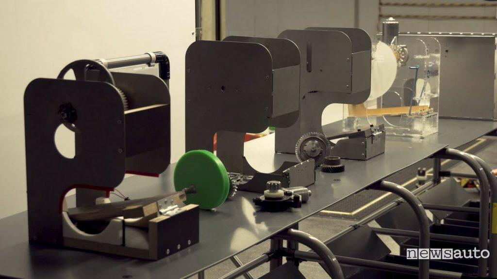 prototipi respiratori polmonari SEAT OxyGEN